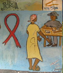 AIDS awareness in Chimoio