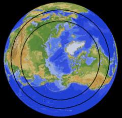 land hemisphere