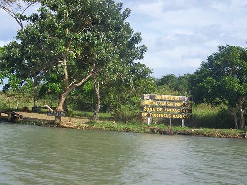San San Pond Sak, desembocadura del R�o Changuinola
