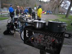 New Year's Day Cargo Bike Ride 2008