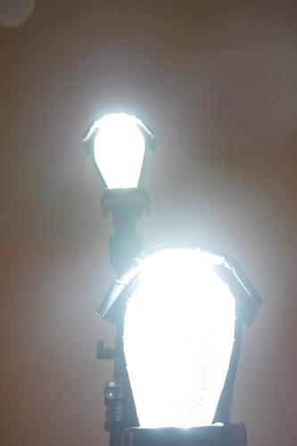 Flash diffuser- all light forward