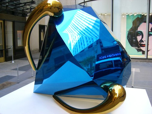 Jeff Koons, ''Blue Diamond'' (2005)
