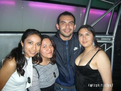 Sandy, Angie, Franco & me
