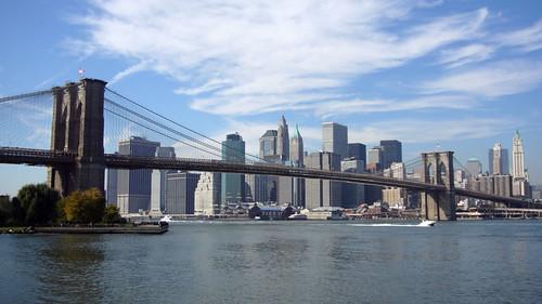puente de brooklyn desde parque