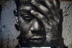 Jean-Michel Basquiat, painted portrait _DDC667...