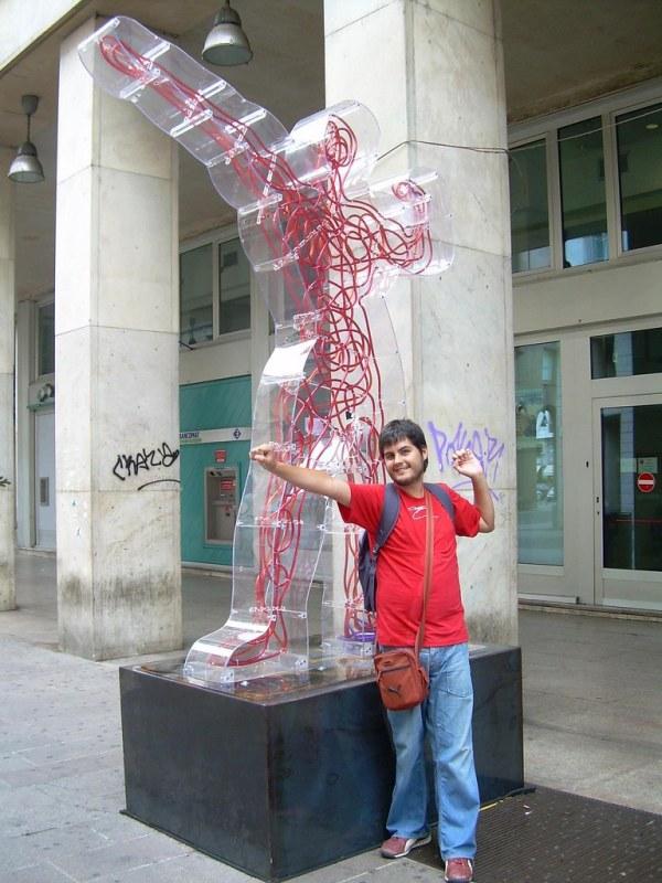 Haciendo el freak en Milán