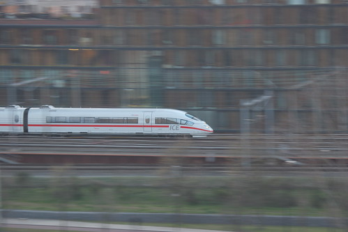 ICE train, Amsterdam. By Erwin van der Meer. Creative Commons license.