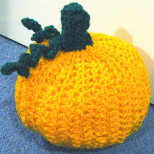 Crochet pumpkin 1