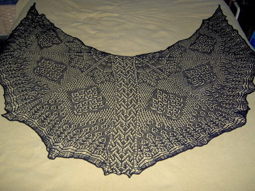 Halloween Shawl - Complete