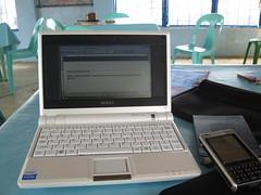 Asus Eee PC, Moleskine, Sony Ericsson P1i