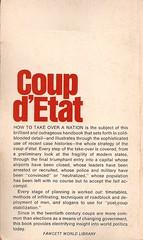 coup d'etat- back cover