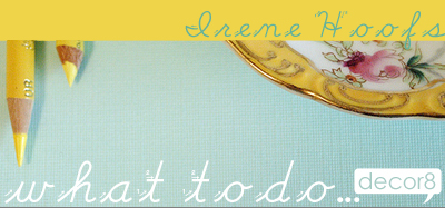 What To Do... Irene Hoofs {Bloesem}