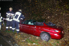 Verkehrsunfall B455 bei Erbenheim 08.11.07