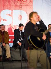 Predvolilni zbor SD socialdemokratov v Novem mestu