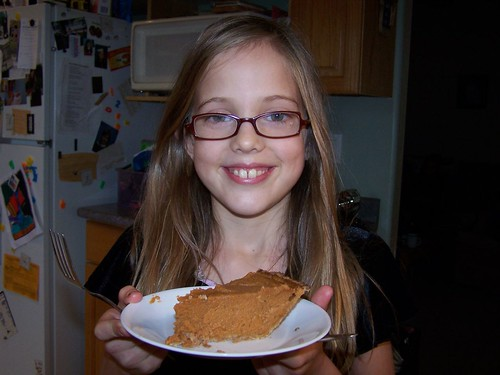 Xan and her Pie