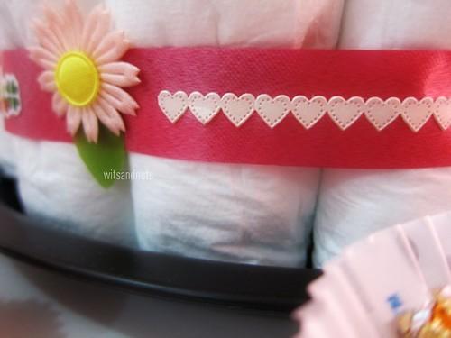 ribbons for diaper cake