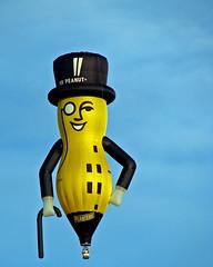 Mr. Peanut Hot Air Balloon