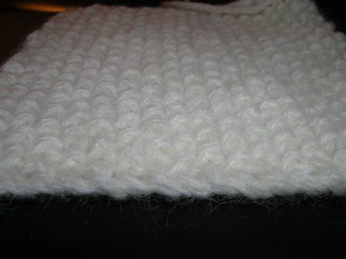 seed stitch swatch 1