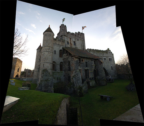Panorama Gravensteen