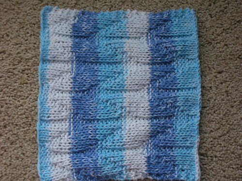 12-28 Chevron Dishcloth