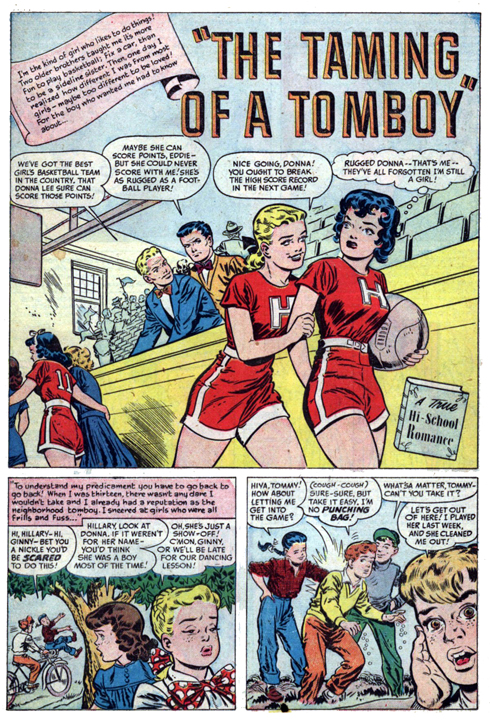 Hi-School Romance #5 - The Taming of a Tomboy