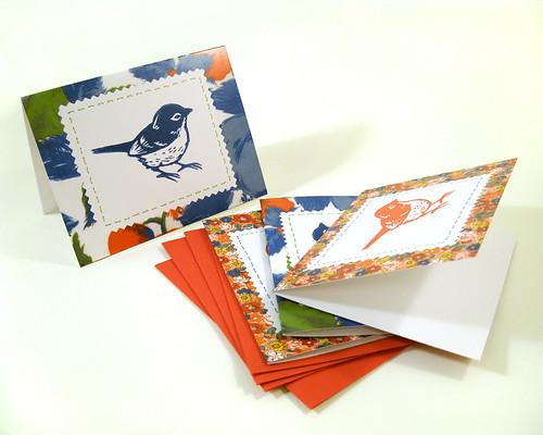 Sparrow cards.