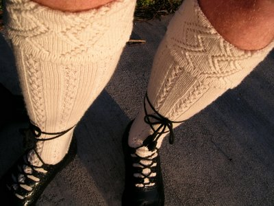 photo of schottische kilt hose