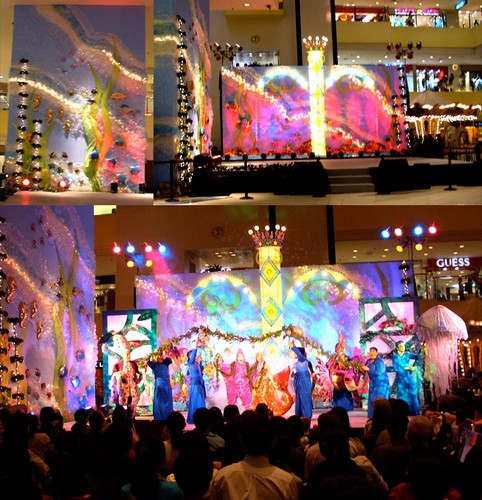 Christmas Little Mermaid at the Shang