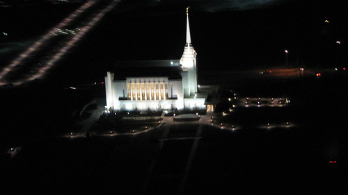 Arial View of Rexburg Temple