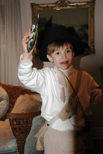 Henry the revolutionary trick-or-treater