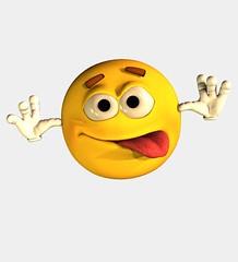 Wacky emoticon