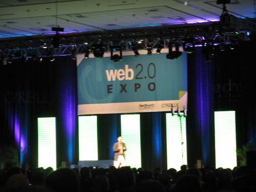 The O\'Reilly Bookstore on the Expo Floor at Web 2.0 Expo San Francisco