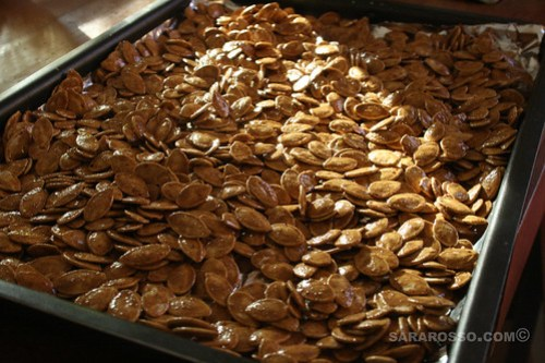 Cinnamon & Brown Sugar Spicy Pumpkin Seeds
