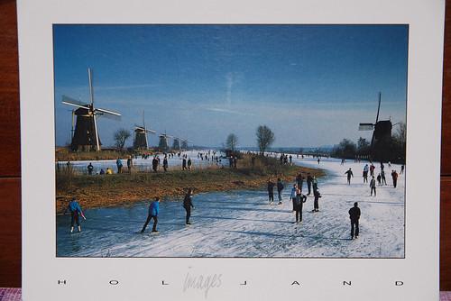 明信片-Kinderdijk