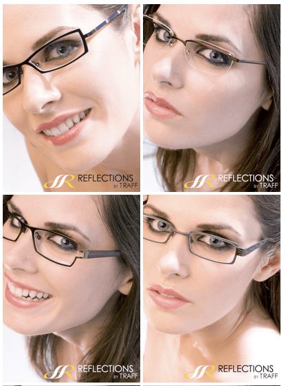 Lisa Bettany specs modeling