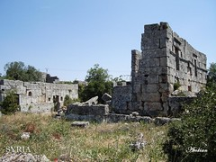 Mjlia location of byzantine ruins