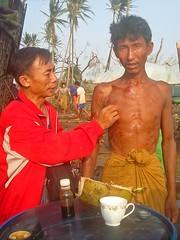 Cyclone Nargis - delta region (Myanmar)