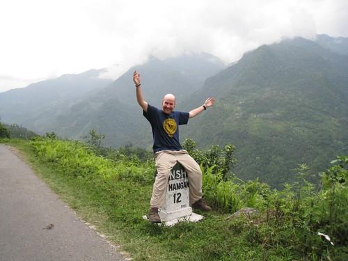 Touring Sikkim