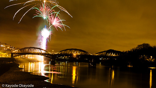 Barnes Railway Bridge (and Fireworks)