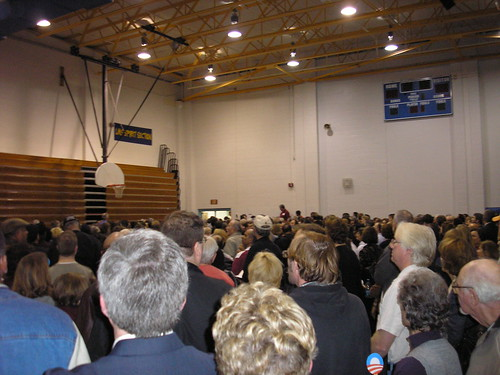 Obama Supporters at the Caucus - 2