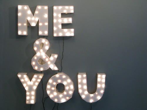 Me & You Show Sign