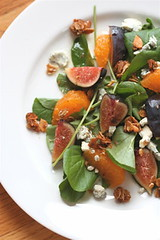 Sweet Cress and Fruit Salad with Grapefruit-Verjus Vinaigrette top