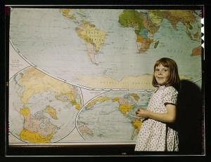 Rural school girl, San Augustine County, Texas- via Flickr (Commons)