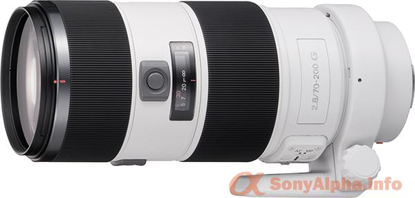 SAL-70200G - 70-200mm f/2.8 G-Series Telephoto Zoom Lens
