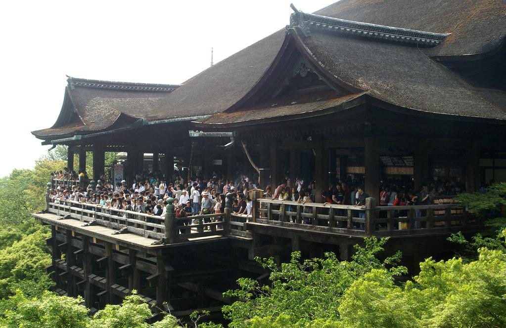 japan kyoto kiyomizu-dera stage
