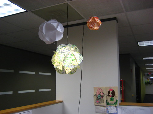 Homemade Paper Globes