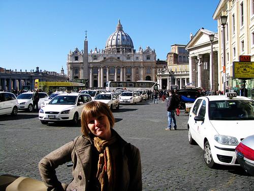 Tiana does Vatican City