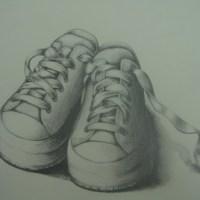 Sketch_白布鞋