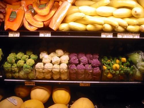 Baby Vegetables at Vons, Credits: Tobin, 2007