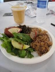 VIP food plate